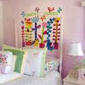 Spring Jazz Wall Decal, Kids Wall Decals | Baby Room Wall Decals | Ababy.com