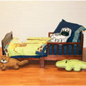 Jazzie Jungle Toddler Bedding, Toddler Bedding Sets For Boys | Toddler Bed Sets | ABaby.com