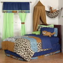 Jazzie Jungle Twin/Full Bedding Collection, Boys Twin Bedding | Twin Bedding Sets | ABaby.com