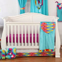 Terrific Tie Dye Crib Bedding Collection, Baby Girl Crib Bedding | Girl Crib Bedding Sets | ABaby.com