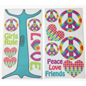 Terrific Tie Dye Wall Decal, Kids Wall Decals | Baby Room Wall Decals | Ababy.com