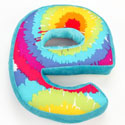 Terrific Tie Dye Letter Pillow, Decorative Throw Pillow For Your Baby | Room D�cor Pillows