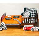 Teyo's Tires Toddler Bedding Set, Toddler Bedding Sets For Boys | Toddler Bed Sets | ABaby.com
