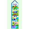 Dinosaurland Growth Chart, Kids Growth Chart | Growth Charts For Girls | ABaby.com