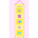 Flowerland Growth Chart, Kids Growth Chart | Growth Charts For Girls | ABaby.com