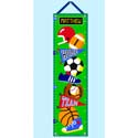 Game On Growth Chart, Sports Themed Nursery | Boys Sports Bedding | ABaby.com