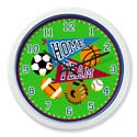 Game On Wall Clock, Nursery Clocks | Kids Wall Clocks | ABaby.com