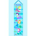 Mermaid Growth Chart, Personalized Baby Growth Chart for Girls & Boys