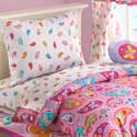 Paisely Dreams Toddler Bedding Set, Girl Toddler Bedding Sets | Toddler Girl Bedding | ABaby.com