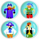 Pirates Drawer Knobs, Pirates Nursery Decor | Pirates Wall Decals | ABaby.com