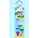 Pirates Growth Chart, Personalized Baby Growth Chart for Girls & Boys