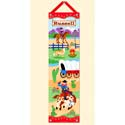 Ride 'em Growth Chart, Wild West, Western, Cowboy Themed Furniture, Decor For Childrens Rooms and Baby's Nursery.