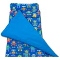 Robots Nap Mat, Personalized Sleeping Bags | Kids Sleeping Bags | ABaby.com