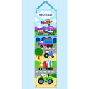 Trains Planes and Trucks Growth Chart, Personalized Baby Growth Chart for Girls & Boys