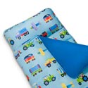 Trains, Planes, and Trucks Nap Mat, Personalized Sleeping Bags | Kids Sleeping Bags | ABaby.com