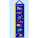 Under Construction Growth Chart, Personalized Baby Growth Chart for Girls & Boys