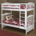 Mission Style Bunk Bed, Toddler Iron Bunk Beds | Kids Bunk Beds | ABaby.com