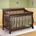 Lifestyle Sleigh Crib, Davinci Convertible Cribs | Convertible Baby Furniture | ABaby.com
