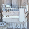 French Farmhouse Melle Crib Bedding, Boy Crib Bedding | Baby Crib Bedding For Boys | ABaby.com