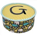 Gus Pouf, Kids Upholstered Chairs | Personalized Upholstered Chairs | ABaby.com