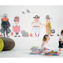 Ahoy Matey Pirate Boat Wall Decal, Pirates Themed Nursery | Pirates Bedding | ABaby.com