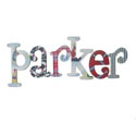 Parker Nautical Theme Letters