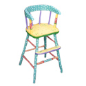 Country Style Youth Chair, Baby High Chairs | Designer High Chairs | ABaby.com