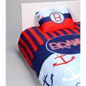 Personalized Anchors Toddler Bedding Set, Nautical Themed Bedding | Baby Bedding | ABaby.com