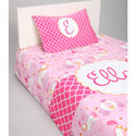 Personalized Princess Toddler Bedding Set, Girl Toddler Bedding Sets | Toddler Girl Bedding | ABaby.com
