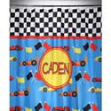 Personalized Race Car Shower Curtain,