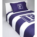 Bold Stripe Personalized Bedding Set , Twin Bed Bedding | Girls Twin Bedding | ABaby.com