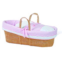 Ruben Moses Basket, Moses Baskets | Wicker Moses Basket | Baby | ABaby.com