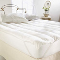 Natural Living Luxury Mattress Topper, Full Size Mattress Protector | Twin Mattress Pad | ABaby.com