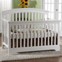 Alba Forever Crib with Toddler Rail, Davinci Convertible Cribs | Convertible Baby Furniture | ABaby.com