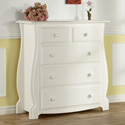 Bergamo 4 Drawer Dresser, Children's Dressers | Kids | ABaby.Com