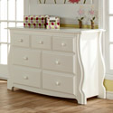 Bergamo Double Dresser, Children's Dressers | Kids | Toddler | ABaby.Com