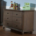 Gardena Double Dresser Changer, Dresser And Changing Table Combo | Nursery Dressers | ABaby.com