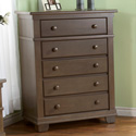 Torino 5 Drawer Dresser, Children's Dressers | Kids | ABaby.Com