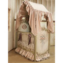 Camelot Crib, Custom Cribs | Rustic Cribs | Unique Cribs | ABaby.com