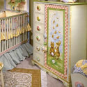 Storytime Child Chest, Bunnies Themed Nursery | Bunnies And Bears Bedding | ABaby.com