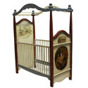 Lone Star Crib, Wild West, Western, Cowboy Themed Furniture, Decor For Childrens Rooms and Baby's Nursery.