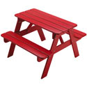 Kid Sized Picnic Table, Outdoor Toys | Kids Outdoor Play Sets | ABaby.com