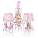 Princess Slippers Chandelier, Princess Nursery Decor | Princess Wall Decals | ABaby.com