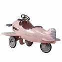 Pretty In Pink Pedal Airplane,