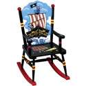 Children's Pirate Rocking Chair, Pirates Themed Nursery | Pirates Bedding | ABaby.com
