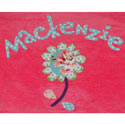 Personalized Flower Applique Bath Towel, Personalized Baby Gifts | Gifts for Kids | ABaby.com