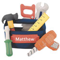 Personalized Tool Box Set, Personalized Kids Toys | Baby Toys | ABaby.com