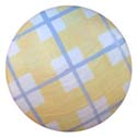 Plaid Knob (Pack of 6), Wooden Furniture Knobs | Wood Knobs | ABaby.com