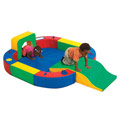 Playring with Tunnel & Slide, Soft Play Toys | Baby Jogger | Fitness Toys | ABaby.com