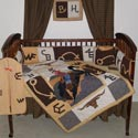 Brand Crib Bedding, Wild West, Western, Cowboy Themed Furniture, Decor For Childrens Rooms and Baby's Nursery.